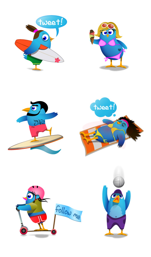 6 Coole Twitter Icons Zum Downloaden Elmastudio