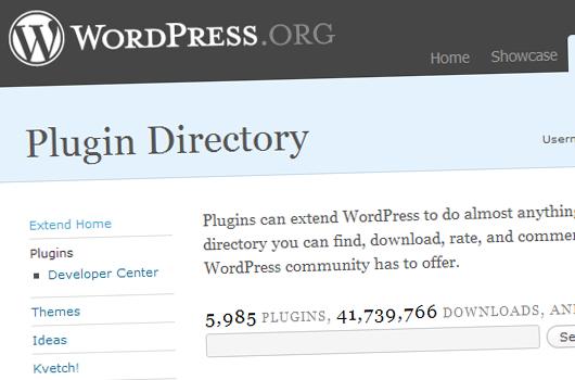 WordPress Plugin Directory.