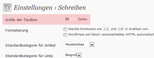 WordPress Tipp Post Editor Buttons