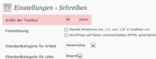 WordPress Tipp Post Editor Buttons