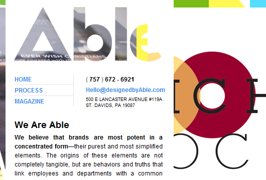 Typografie im Webdesign