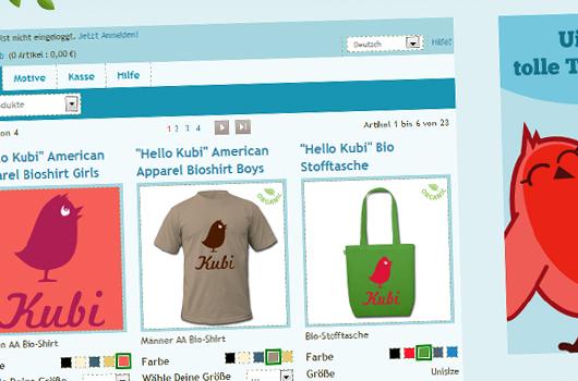 Kubis Welt T-Shirt Shop
