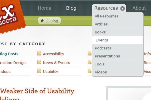 Webdesign Trends: 20 außergewöhnliche Seitennavigationen