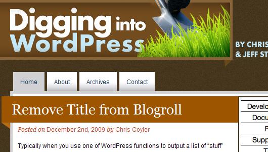 WordPress Blogs und E-Books