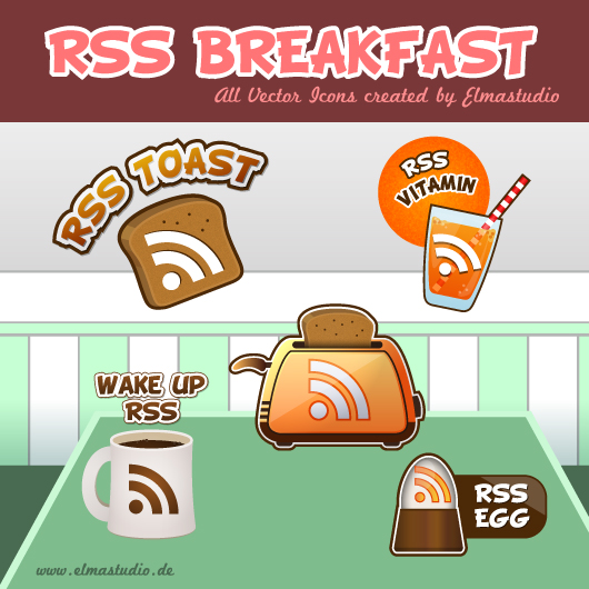 free RSS Icon Set - vector icons