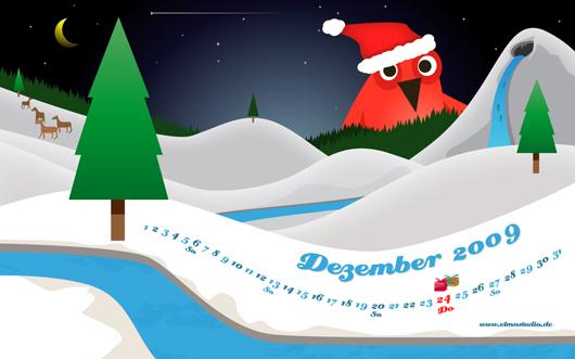 kostenloses Dezember Desktop Wallpaper