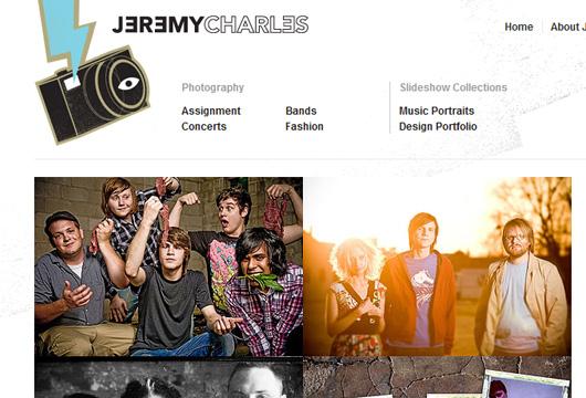 Fotografie Portfolio mit WordPRess