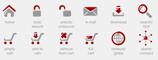 kostenlose e-Commerce Icon-Sets