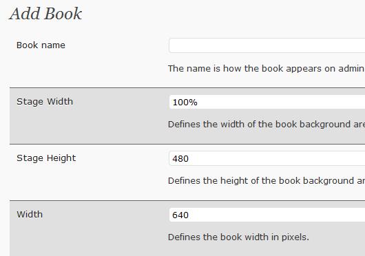 FlippingBook WordPress-Plugin