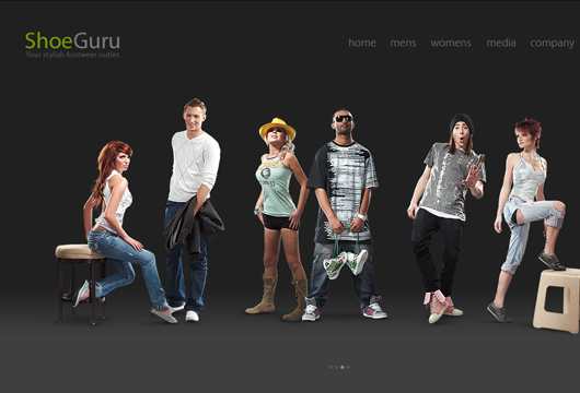 Webdesign Inspiration Online Shops
