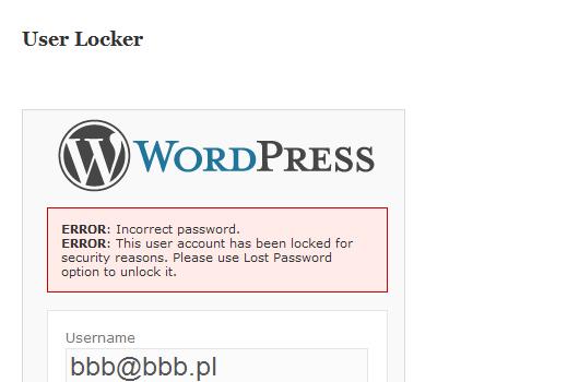 WordPress-Plugins Adminbereich
