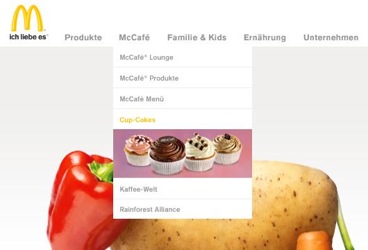 Webdesign Inspiration: Kreative Drop-Down Menüs