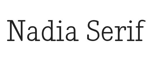 serifenbetonte Free-Fonts