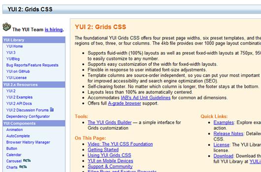CSS Grid-Systeme und Grid-Generatoren