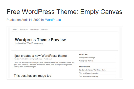 Basis WordPress-Themes