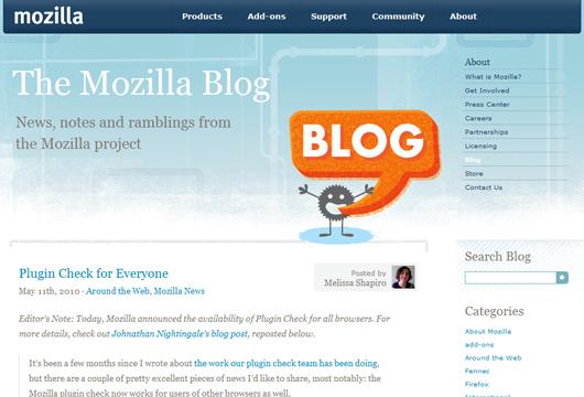 bekannte WordPress Webseiten