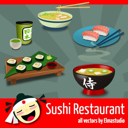 kostenlose Sushi-Icons
