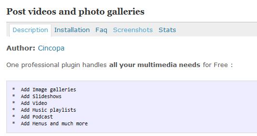 WordPress-Plugins für die Sidebar
