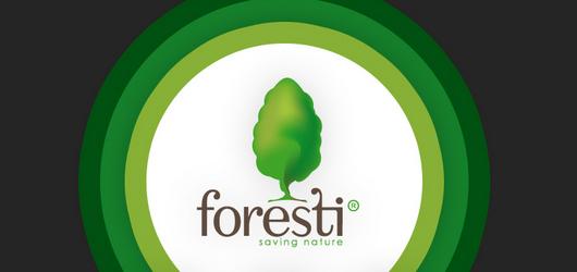 Logos von der Natur inspiriert