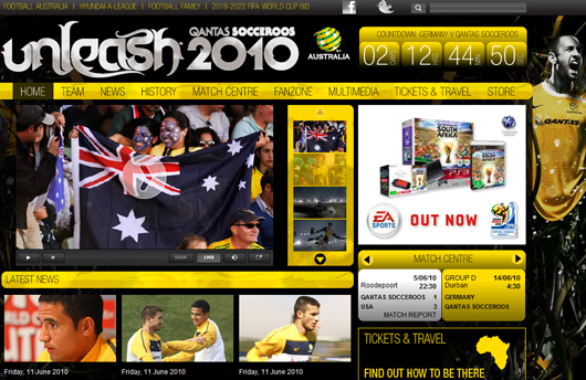 Webseiten zum Thema Fußball