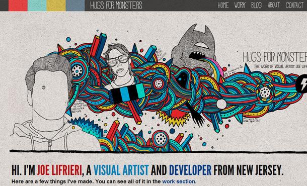 kreative Webdesign Header