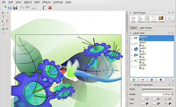 Kostenlose Grafik Und Bildbearbeitungs Programme Fur Webdesigner