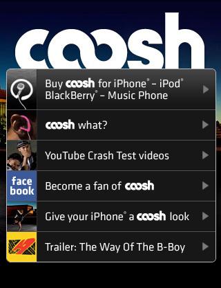 mobile Webseiten Designs