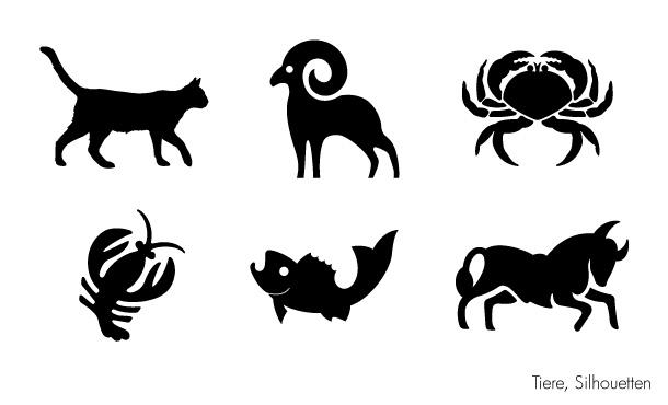 Tiere Symbol