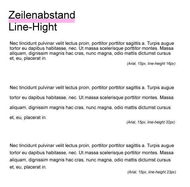 Typografie Tipps fuer Webdesigner Teil 2