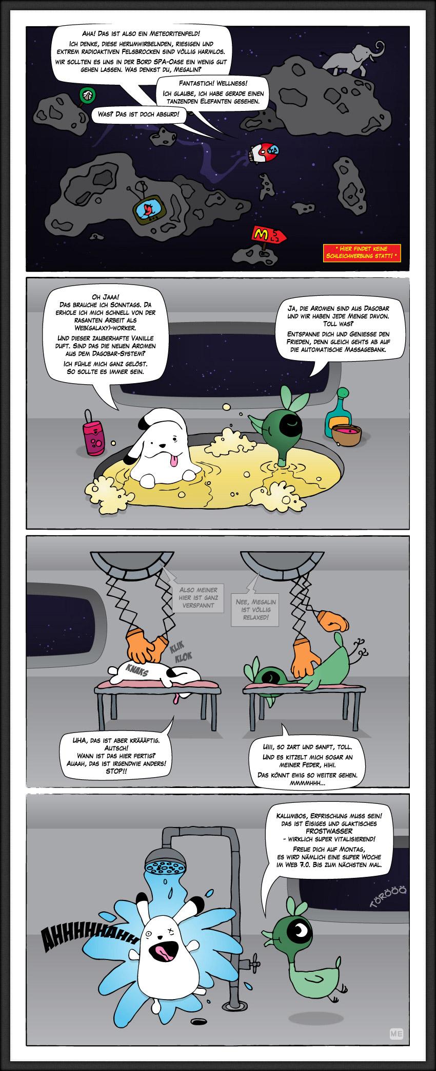 Comicserie Megalin Kalumbos 02