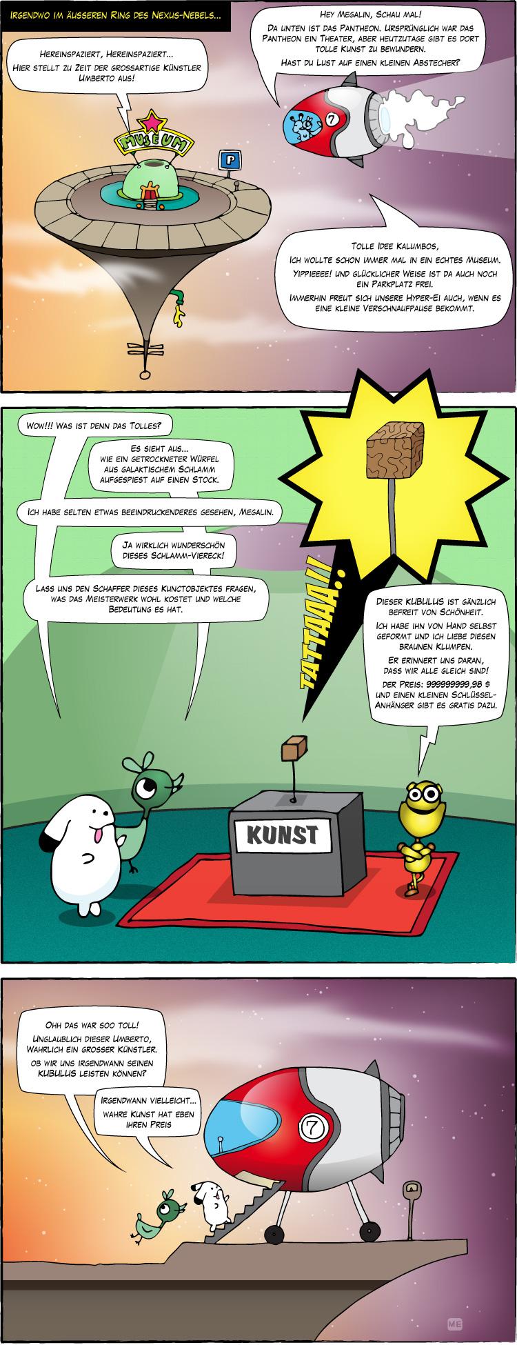 Comicserie Megalin Kalumbos 03