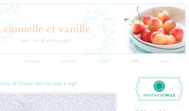 Inspiration Food Blogs Photography