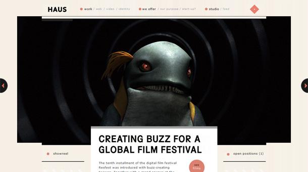 Webdesign Inspiration Featured Slider