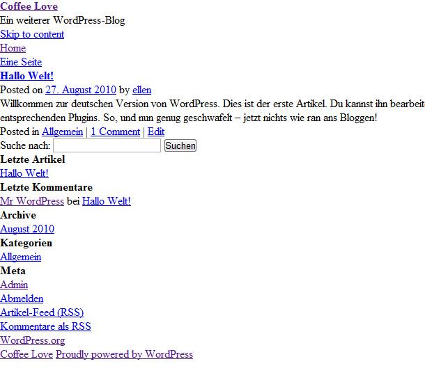 Webseiten Tutorial Teil6