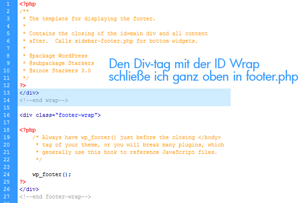 WordPress Theme Programmierung