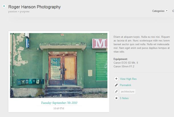 Tumblr Themes Fotografie