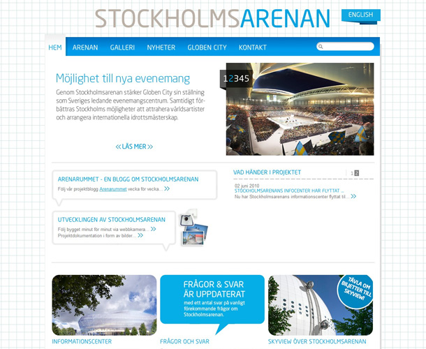 Webdesign Inspiration WordPress als CMS