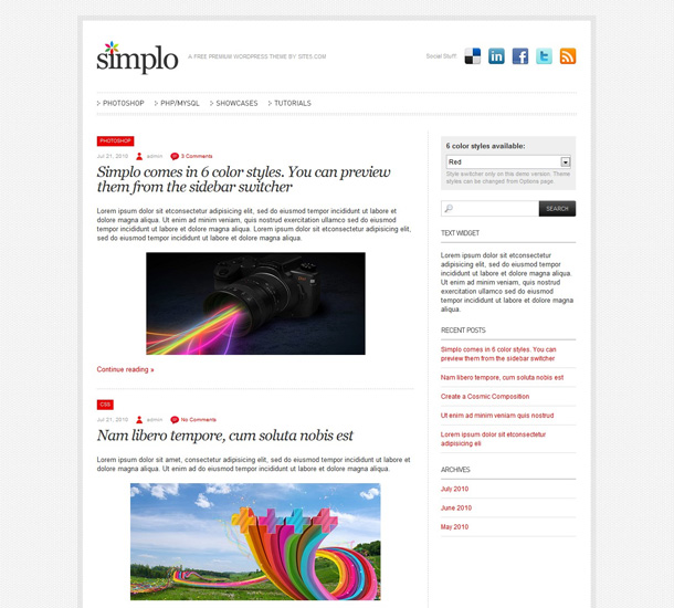 WordPress Themes private Blogs
