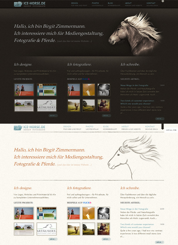 Webdesign Inspiration Theme Switcher