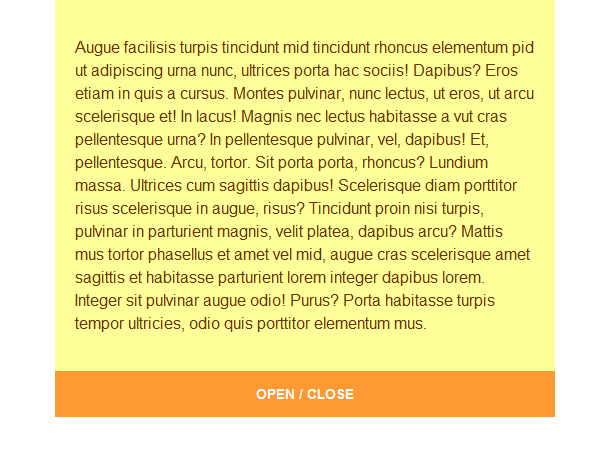 jQuery Toggle Slider