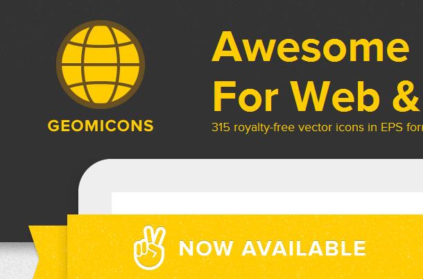 Webseiten Logos mit Kreisen