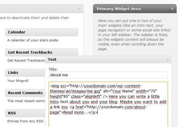 Ari WordPress-Theme