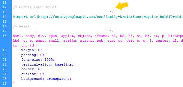 CSS Optimierung