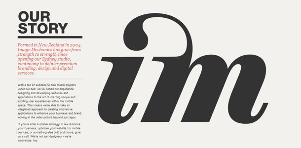 Typografie Logos gestalten