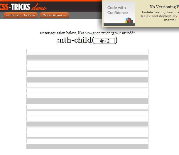 CSS Pseudoklassen-Selektoren