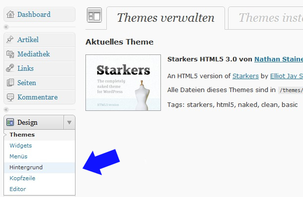 Starkers HTML5 WordPress Blank-Theme