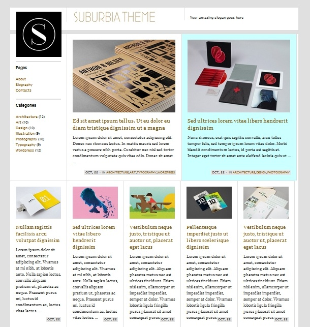 WordPress Themes mit Gridsystem