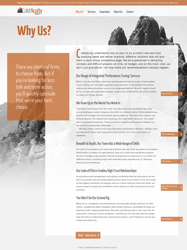 Responsive Webdesign CalebAcutiy