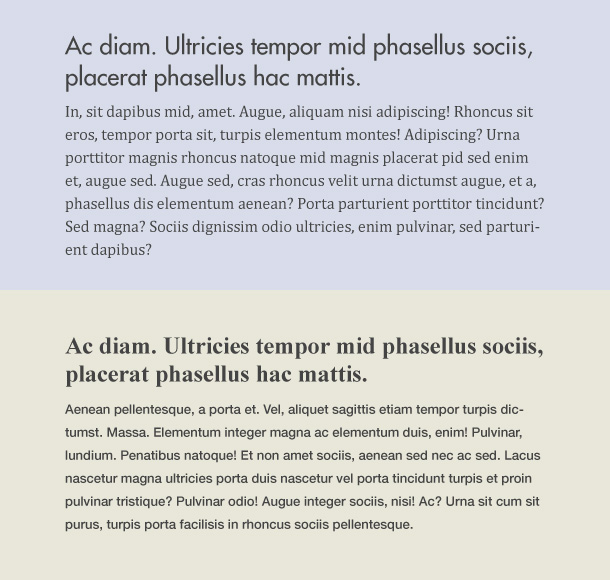 CSS Tipps Ueberschriften
