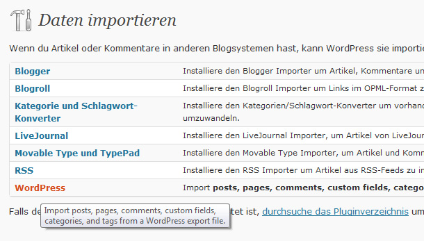 Plugin-Tipps WordPress Theme Entwicklung